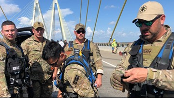 SWAT deputies describe details of retrieving dangling Greenpeace protesters