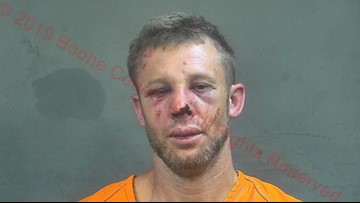 Bloodied suspect in custody after allegedly trying to take little girl from Indiana apartment
