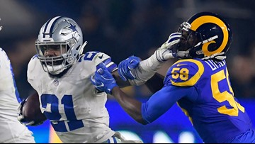 Ezekiel Elliott is officially a 'non-report' to Cowboys training camp