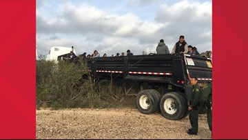 Border Patrol apprehends 75 illegal aliens and seize a large amount of marijuana