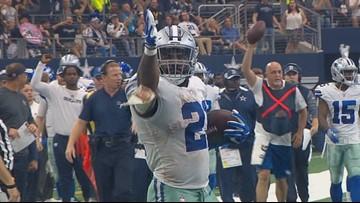 Cowboys Training Camp Report: Ezekiel Elliott a no-show thus far