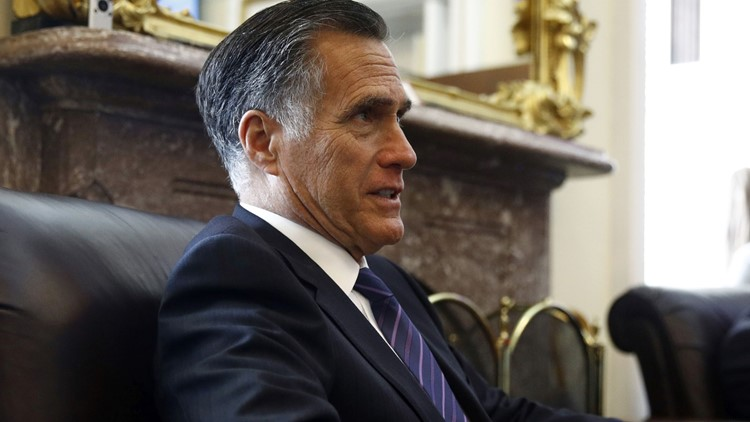 Trump call with Ukraine 'troubling,' Mitt Romney says