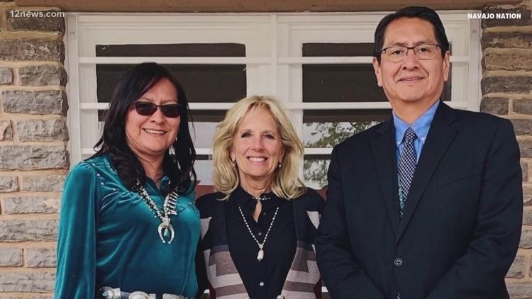 Jill Biden hears from Navajo women on needs, priorities
