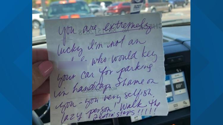 edit letter chandler gilbert disability car parking