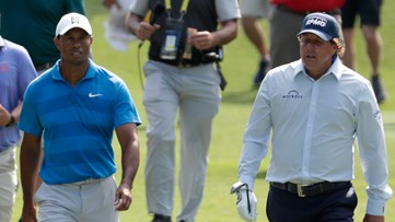 Woods, Manning taking on Mickelson, Brady in TV charity match