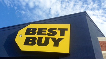 Thieves cut hole in roof, steal thousands worth of electronics from Arkansas Best Buy