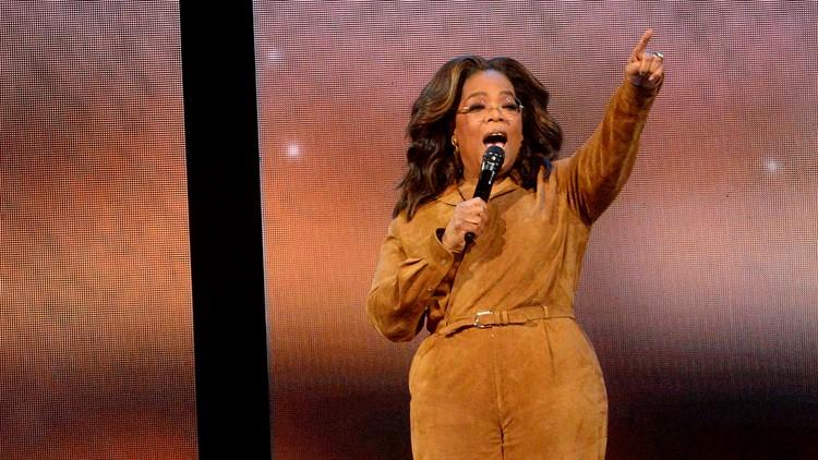 "Oprah Winfrey participates in ""Oprah's 2020 Vision: Your Life in Focus"""