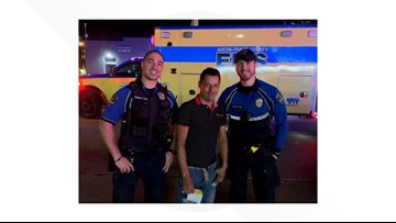 It's a girl! Austin police officers help woman deliver baby on side of Interstate 35