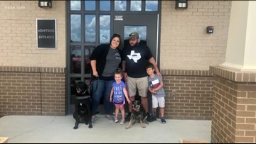 Reunited! Texas family finally has their dog back after 9 years