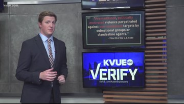 Verify: Why isn't the Austin Bomber being called a terrorist?