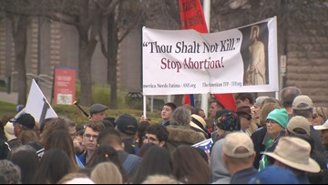 Thousands attend annual Texas Rally for Life in Downtown Austin