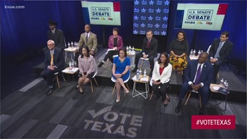 Democratic U.S. Senate candidates debate marijuana, healthcare, other topics in Austin debate