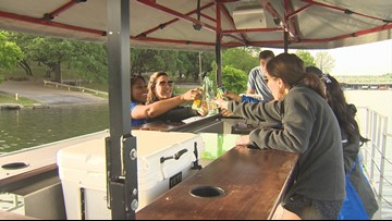 All aboard! Austin's first cycle boat lets you pedal and drink on the lake