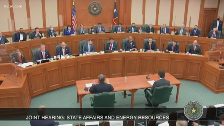 Who's at fault?' Texas lawmakers question energy leaders about power crisis