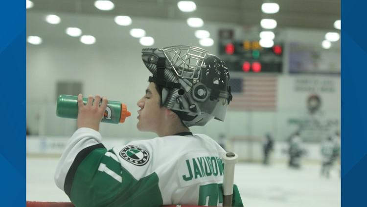 Krys drinking water