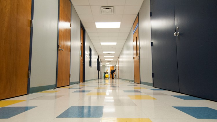 Lessons Learned Schools Working To Keep Campuses Sanitized Amid Coronavirus Cbs19 Tv