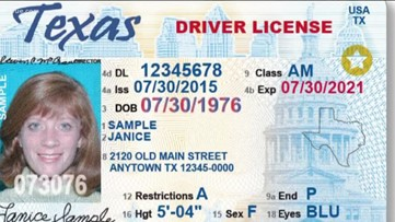 20% of Texans still don't have a REAL ID as deadline approaches