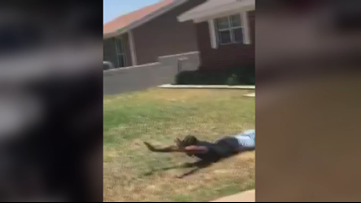 Dramatic video shows altercation with Midland Police, attorney say it was racial profiling