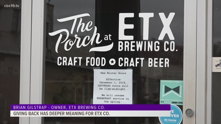 Giving back has deeper meaning for ETX company