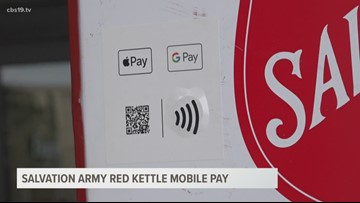 The Salvation Army introduces Kettle Pay!