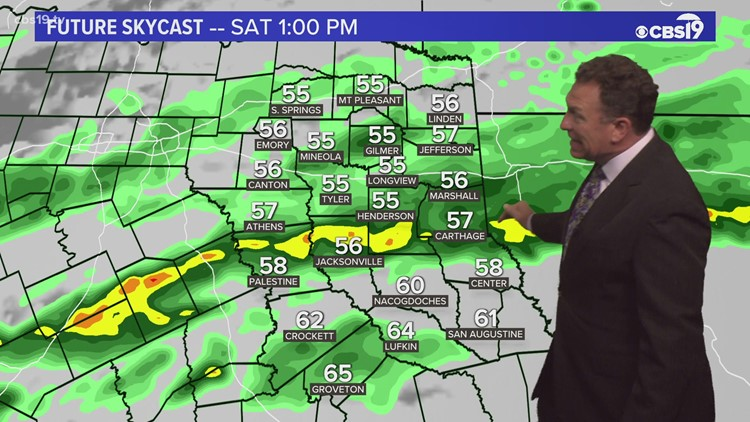 Thursday April 15th 2021 Late Night Weather