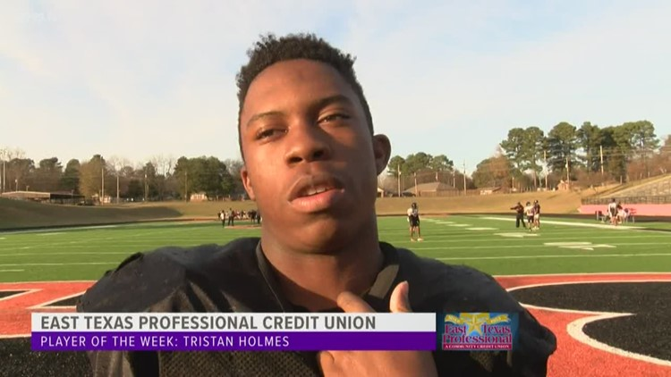 East Texas Professional Credit Union Player of The Week: Tristan Holmes