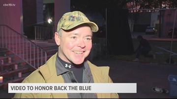 Music video to honor Back the Blue