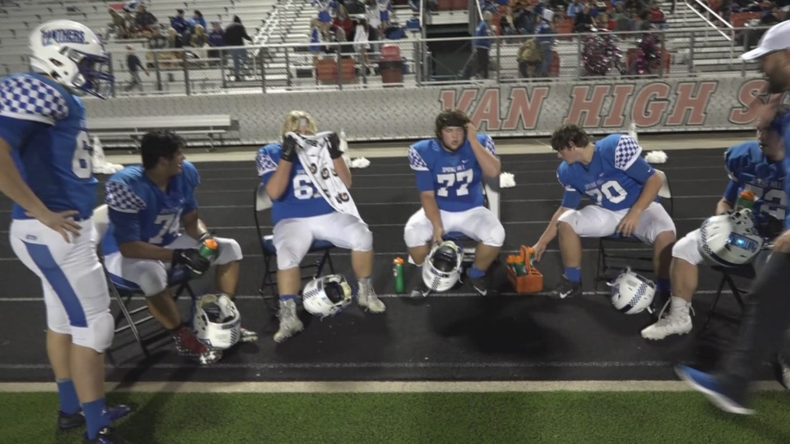 How five men anchored the Spring Hill offense