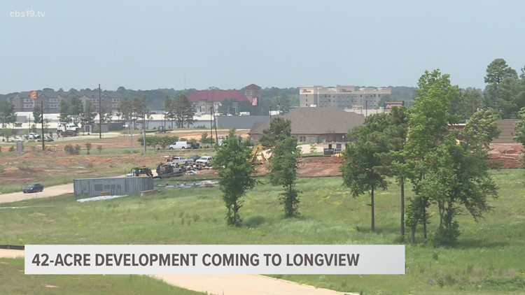 42-acre development sprouting up in Longview