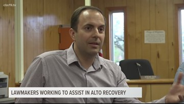 Federal and state lawmakers working to assist in Alto recovery