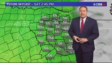 Much nicer weather on the way for the weekend!