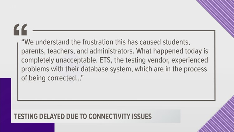 East Texas school districts report connectivity issues with STAAR test