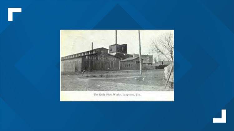 Postcard of Kelly Plow Company