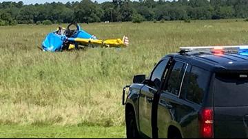 UPDATE: 2 injured in plane crash near Holly Lake area of
