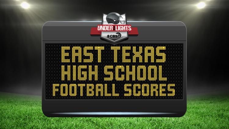 WEEK 4: East Texas high school football scoreboard