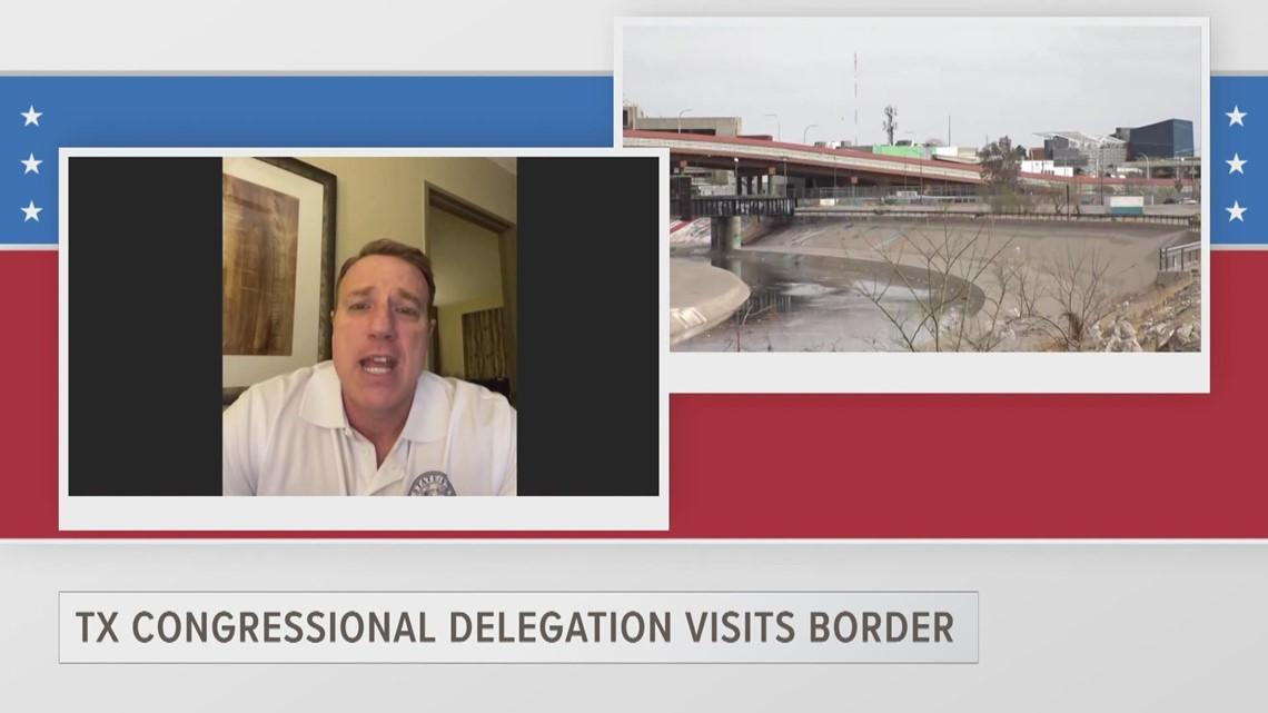ETX Covered: Rep. Pat Fallon describes border conditions after tour of the Rio Grande Valley, part one