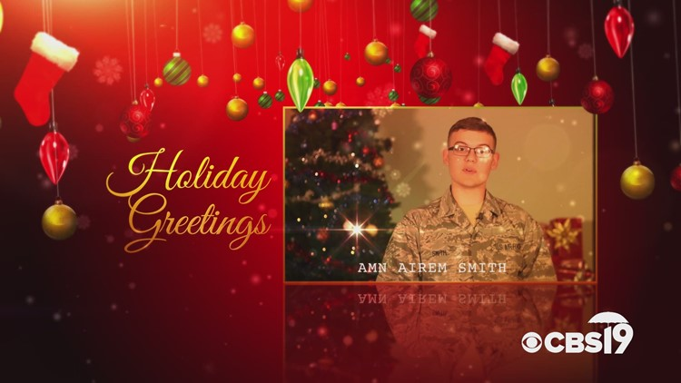 Military Greetings: Airman Airem Smith