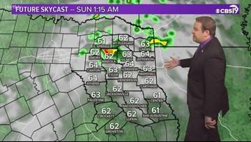 Rain is looking possible this weekend in East Texas.