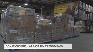 ETX FOOD BANK PARTNERING WITH GROCERY STORE TO FIGHT HUNGER
