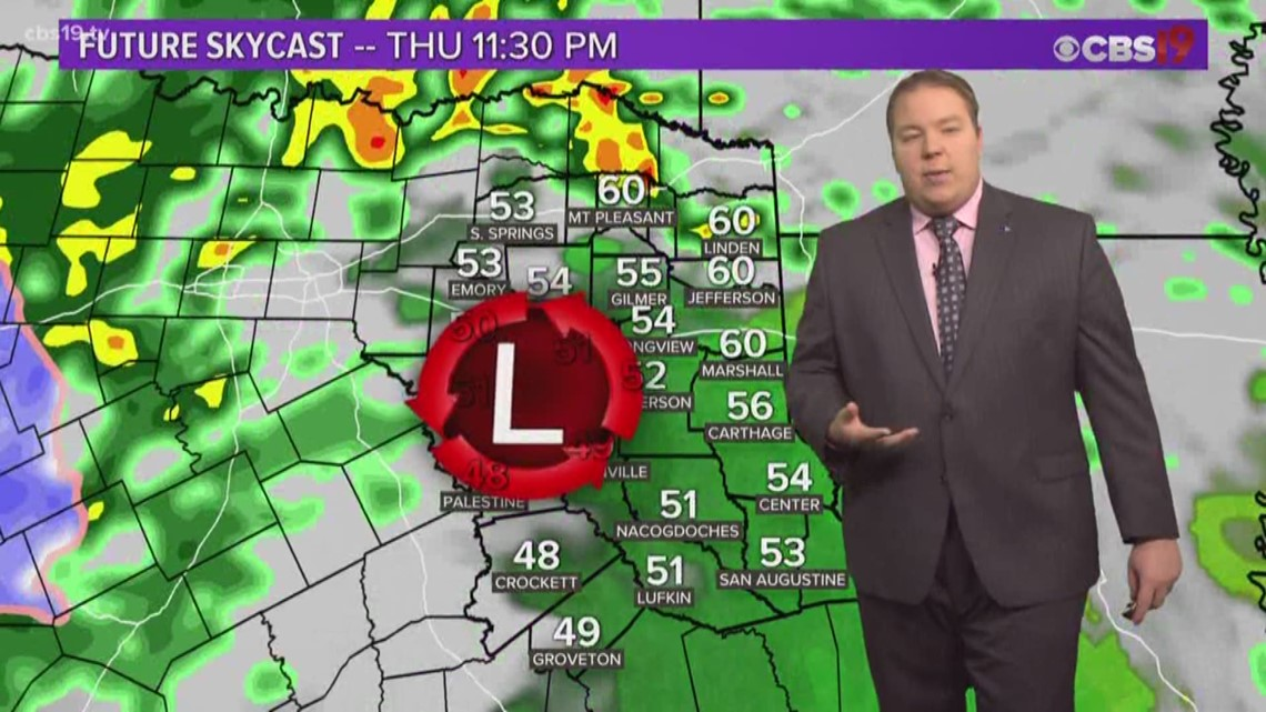Rain and storms overnight and tomorrow, some could be strong.