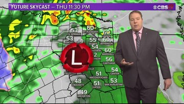 Showers and storms expected overnight