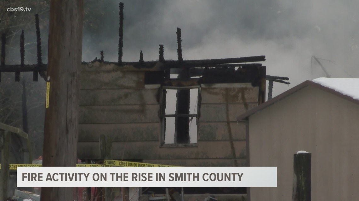 FIRE MARSHAL: Smith County has seen 'stark increase' in fire activity