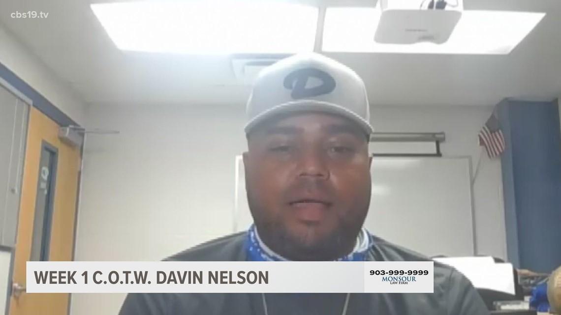 CBS19 COACH OF THE WEEK: Daingerfield's Davin Nelson