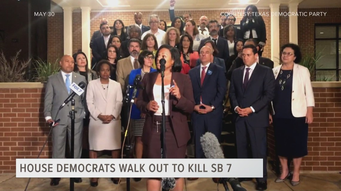 ETX Covered: Texas House Democrats Walk Out