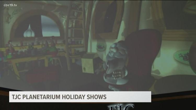 TJC Planetarium Holiday Shows
