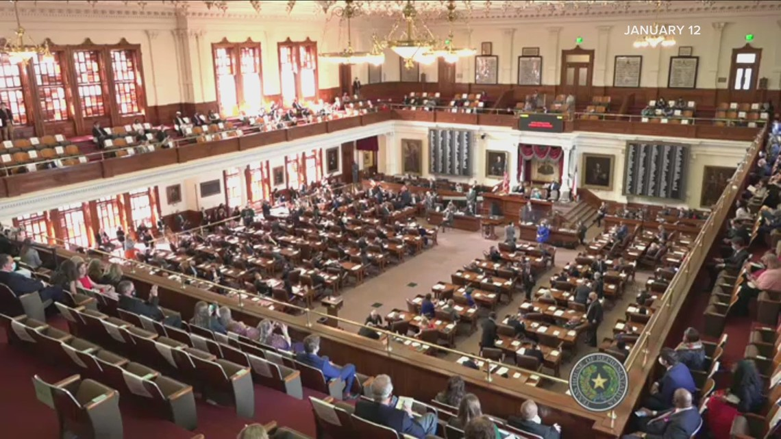 Texas legislature adjourns with unfilled chairs and unfinished business presaging a special session