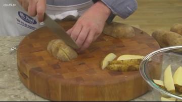 Mr. Food: Crispy potato wedges