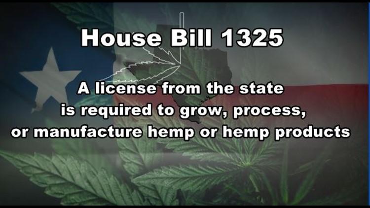 HB 1325 Hemp law
