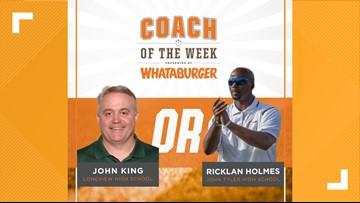 VOTE: Whataburger Coach of the Week - John King vs. Ricklan Holmes