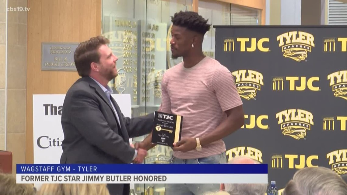 Jimmy Butler Honored At TJC